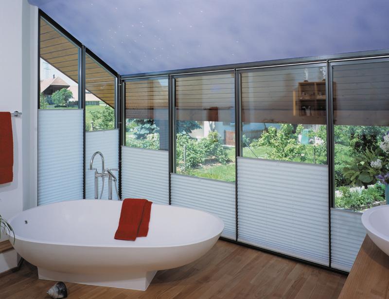 pliss als ersatz von rollo oder vorhang altstadt n hatelier zug. Black Bedroom Furniture Sets. Home Design Ideas
